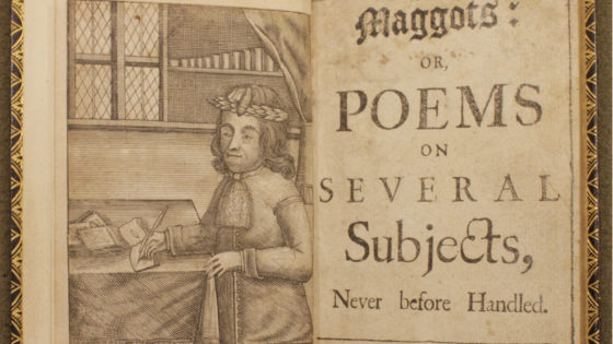 Samuel Wesley, Maggots: Or, Poems on Several Several Subjects, Never before Handled