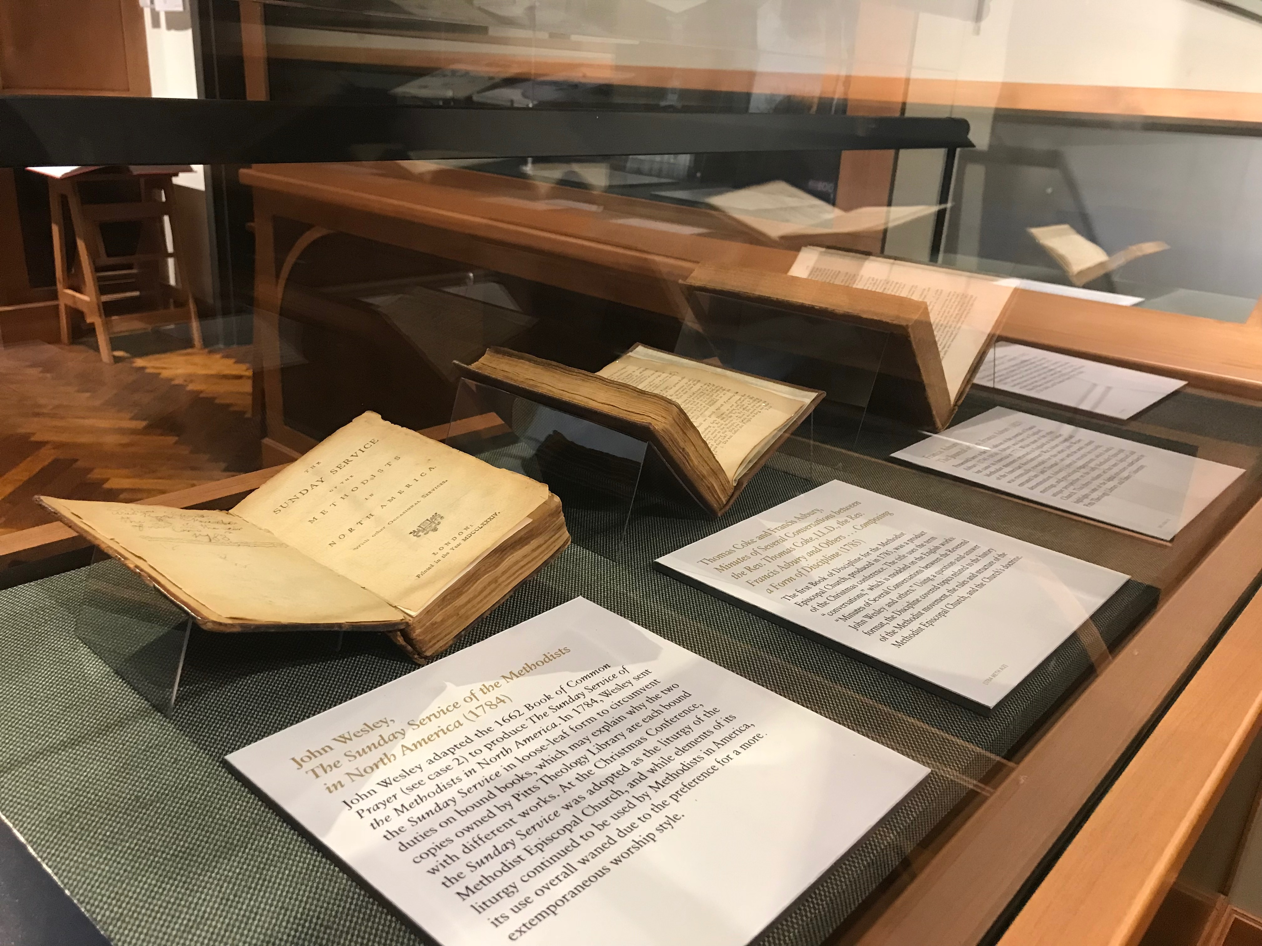 Pitts Theology Library Exhibition Gallery