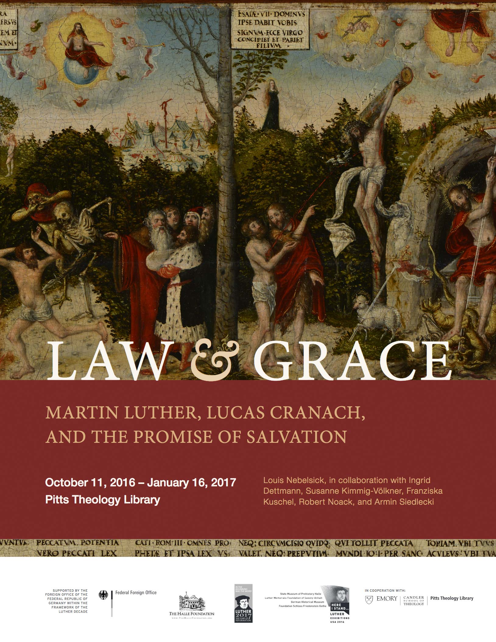 Law and Grace: Martin Luther, Lucas Cranach, and the Promise of Salvation