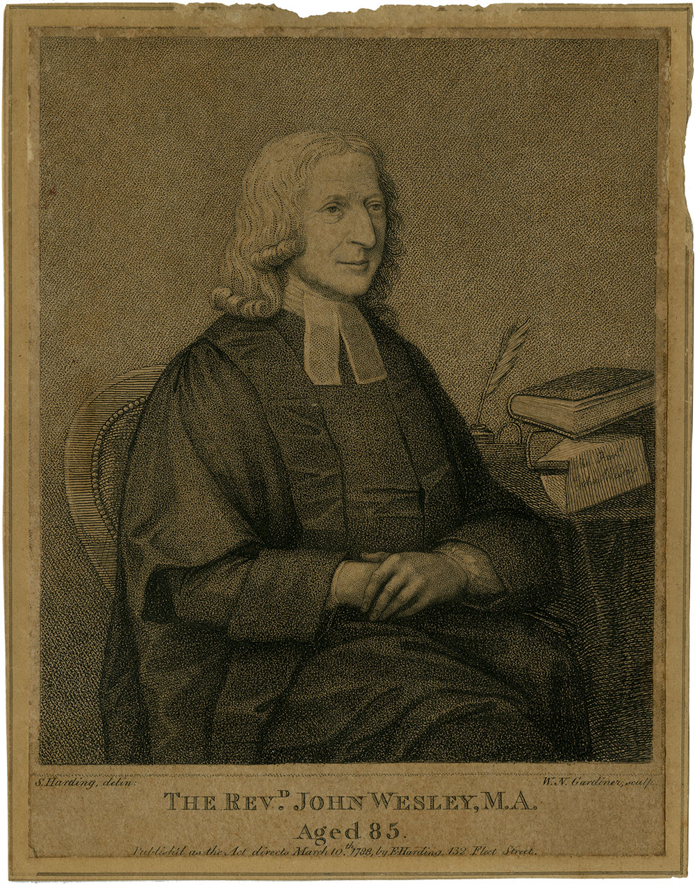 William Nelson Gardiner, The Revd John Wesley, M.A. Aged 85