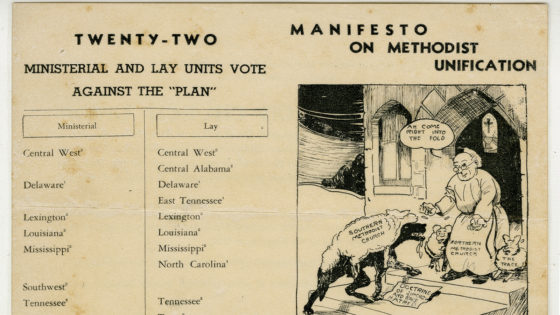 Manifesto on Methodist Unification