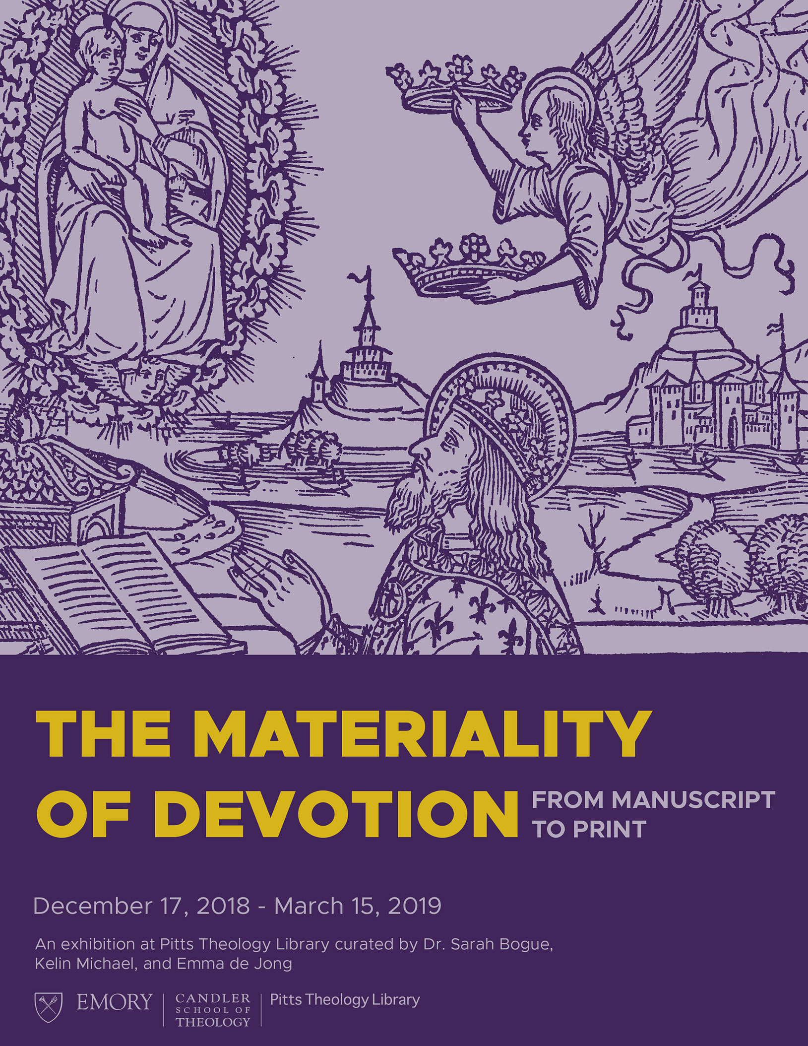 The Materiality of Devotion Poster