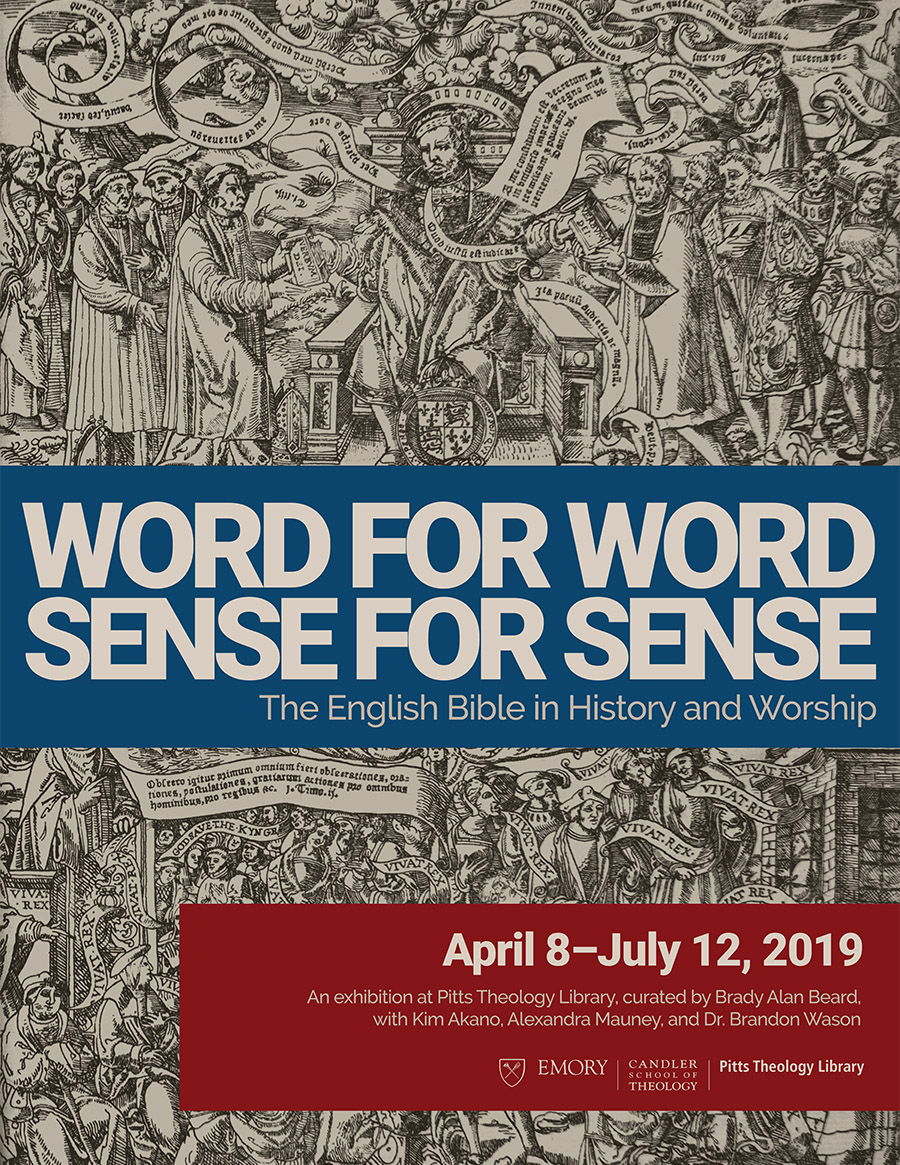 Word for Word, Sense for Sense: The English Bible in History and Worship
